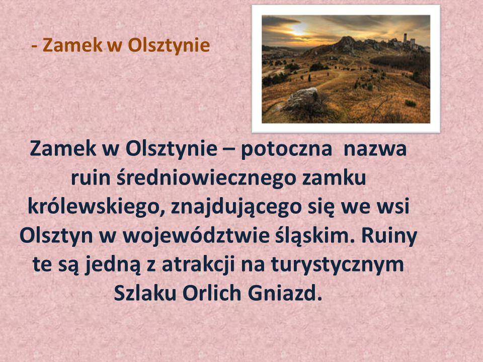 - Zamek w Olsztynie