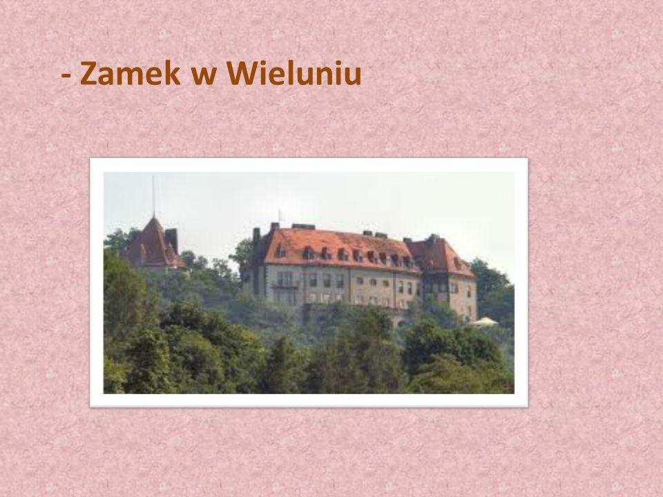 - Zamek w Wieluniu