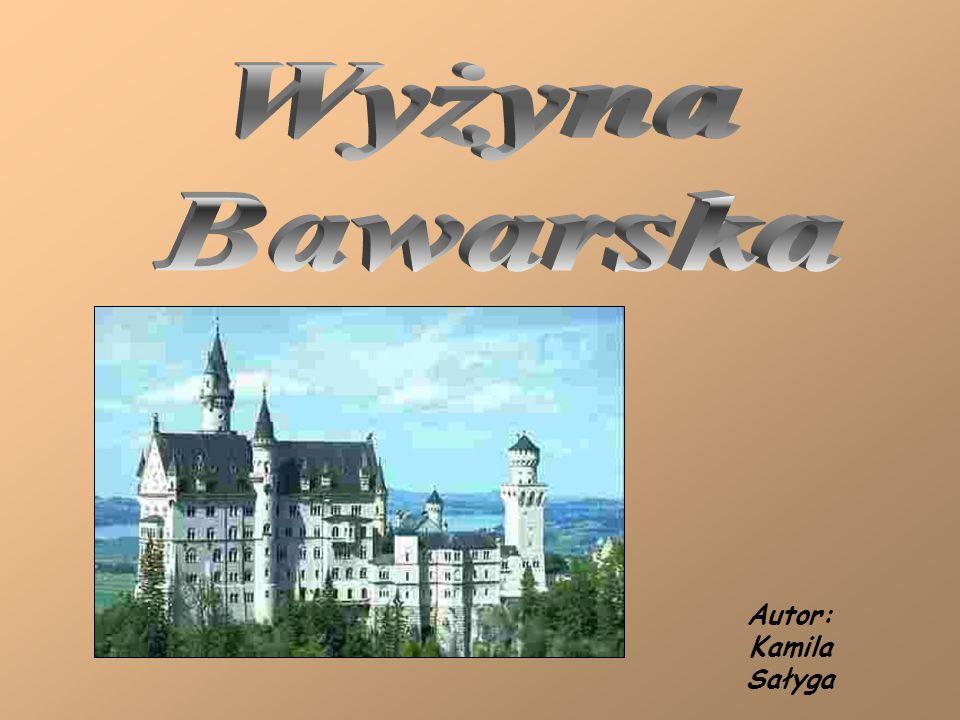 Wyżyna Bawarska Autor: Kamila Sałyga