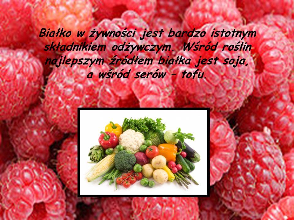 Białko w żywności jest bardzo istotnym składnikiem odżywczym