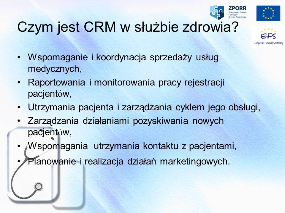 Czym jest CRM w służbie zdrowia