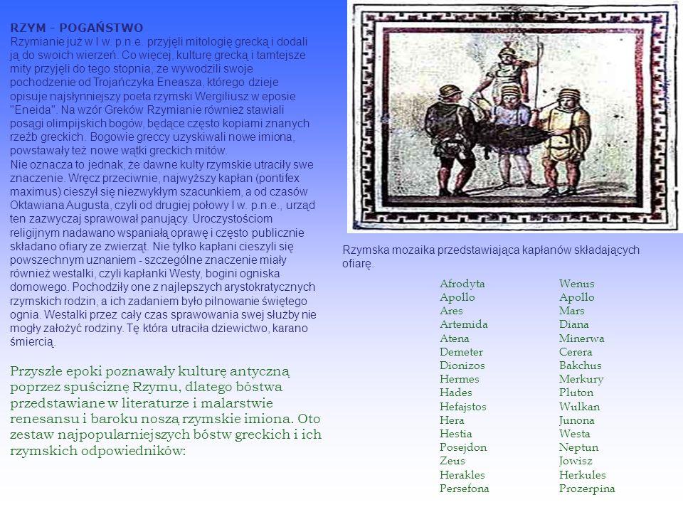 Religie rzymskie - I w. p.n.e.