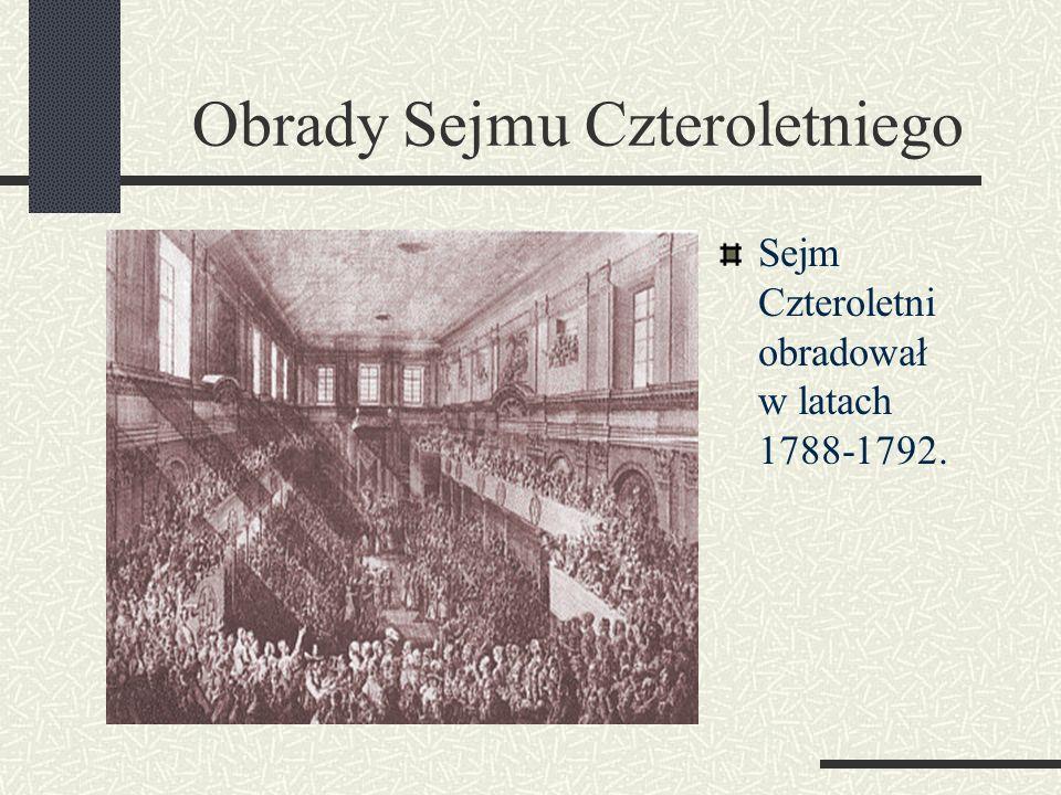 Obrady Sejmu Czteroletniego