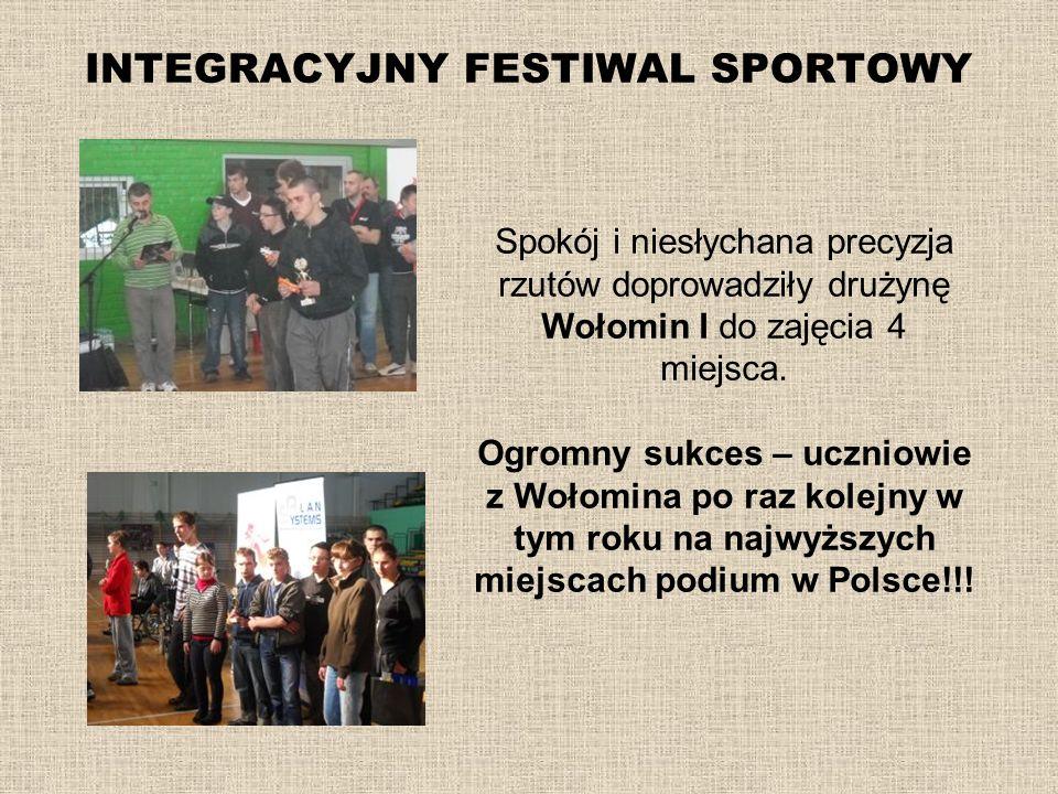 INTEGRACYJNY FESTIWAL SPORTOWY