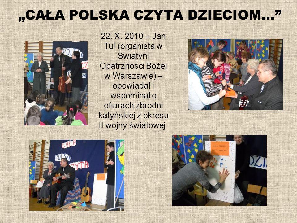 """""""CAŁA POLSKA CZYTA DZIECIOM…"""
