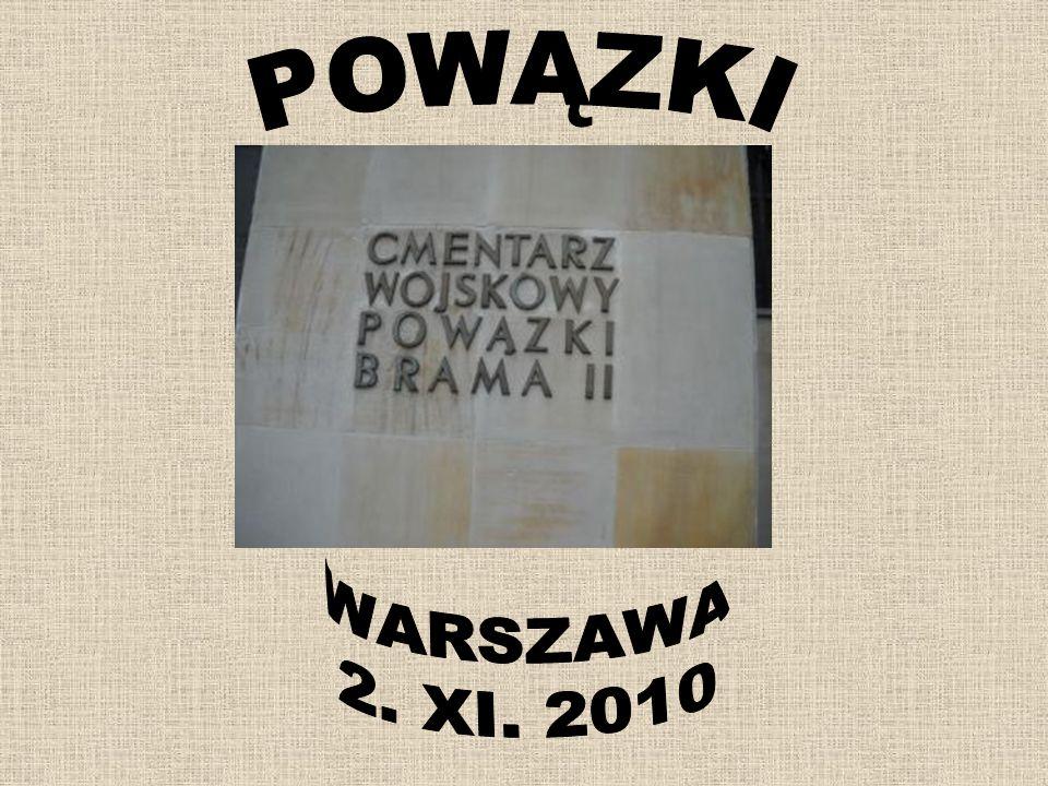 POWĄZKI WARSZAWA 2. XI. 2010