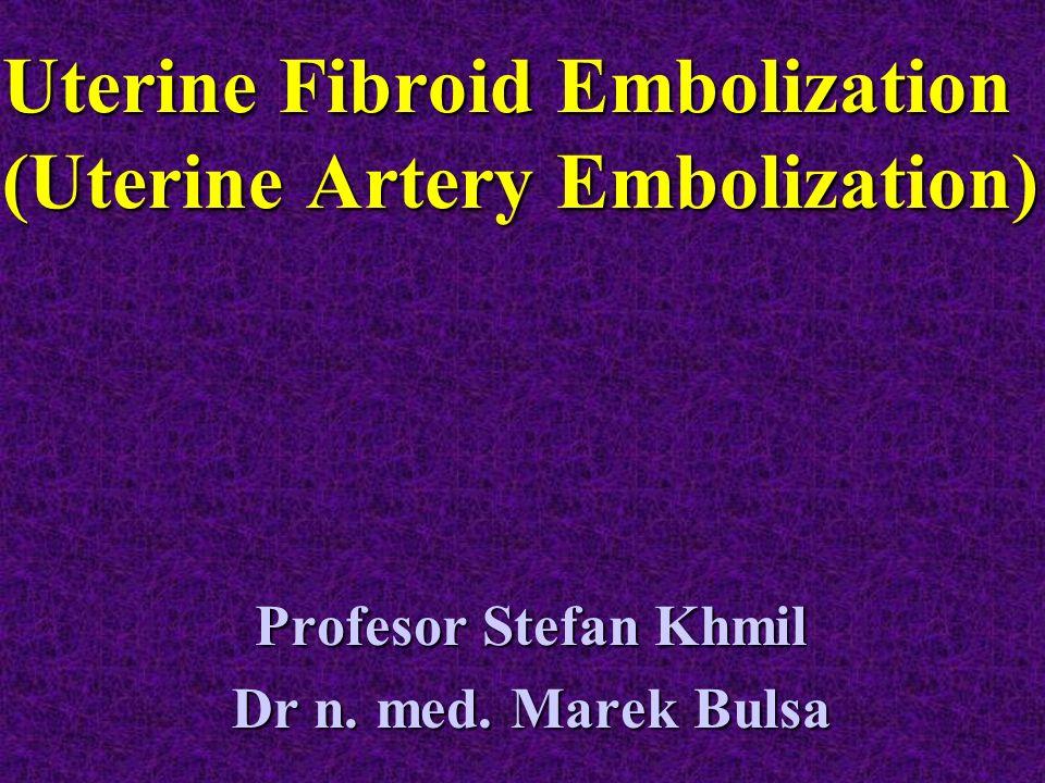 Uterine Fibroid Embolization (Uterine Artery Embolization)