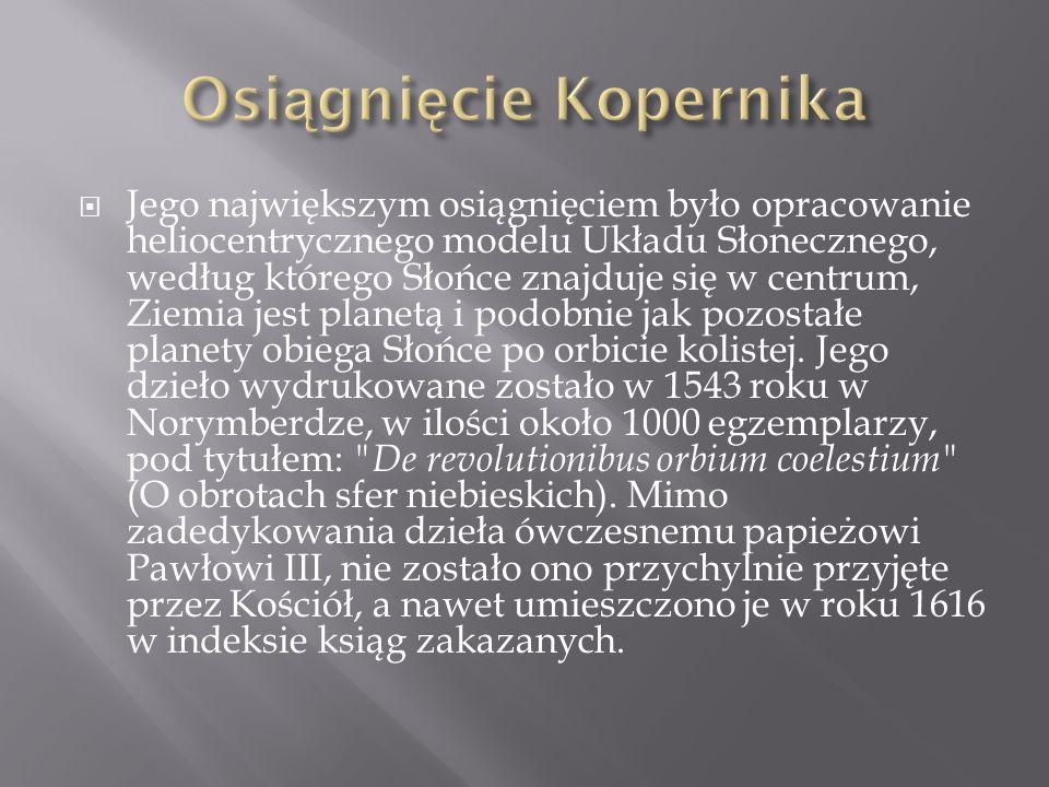 Osiągnięcie Kopernika
