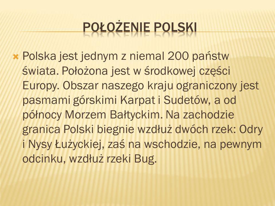 Położenie Polski