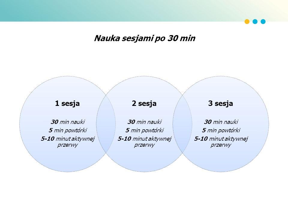 5-10 minut aktywnej przerwy