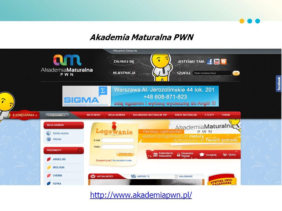 Akademia Maturalna PWN