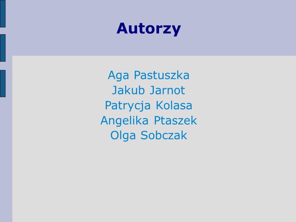 Autorzy Aga Pastuszka Jakub Jarnot Patrycja Kolasa Angelika Ptaszek
