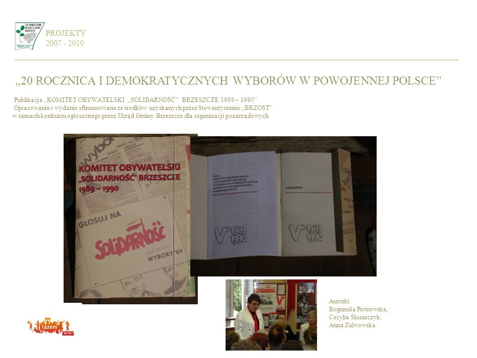 """""""20 ROCZNICA I DEMOKRATYCZNYCH WYBORÓW W POWOJENNEJ POLSCE"""