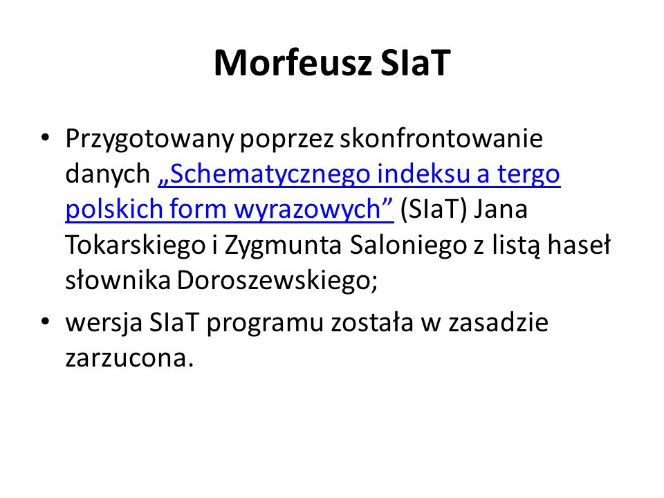 Morfeusz SIaT