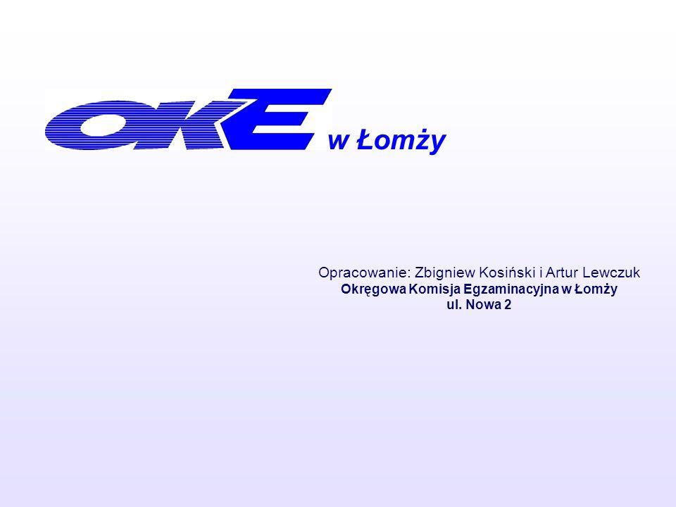 Okręgowa Komisja Egzaminacyjna w Łomży