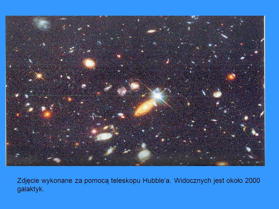 Zdjęcie wykonane za pomocą teleskopu Hubble'a