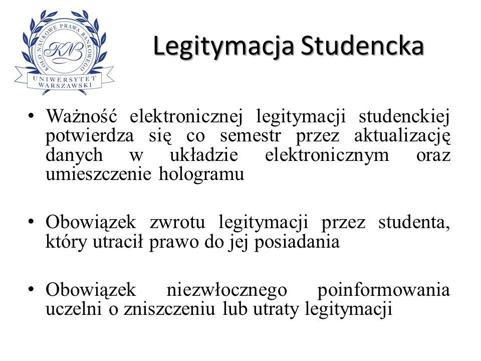 Legitymacja Studencka