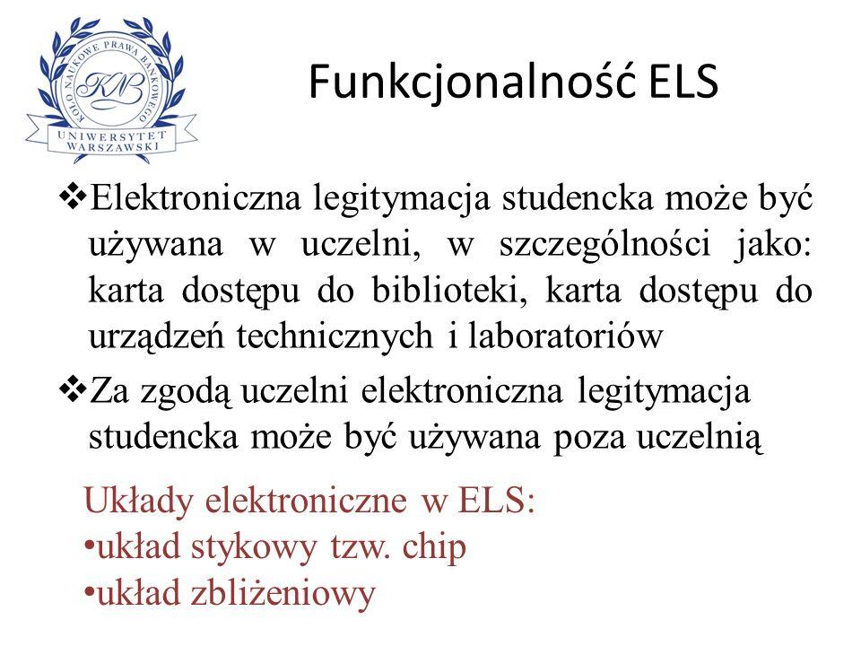 Funkcjonalność ELS