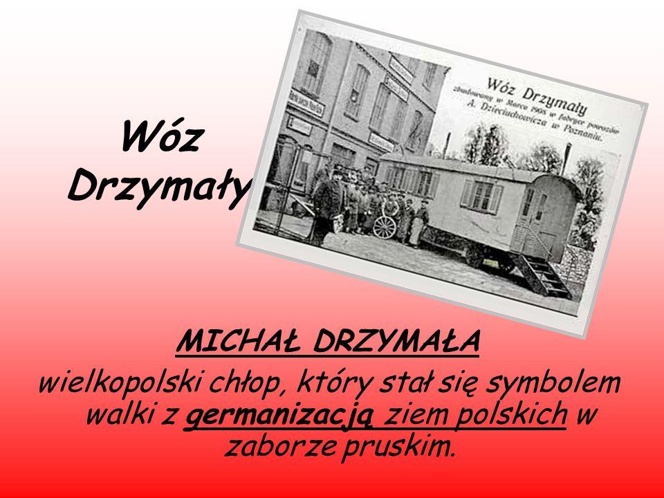 Wóz Drzymały MICHAŁ DRZYMAŁA