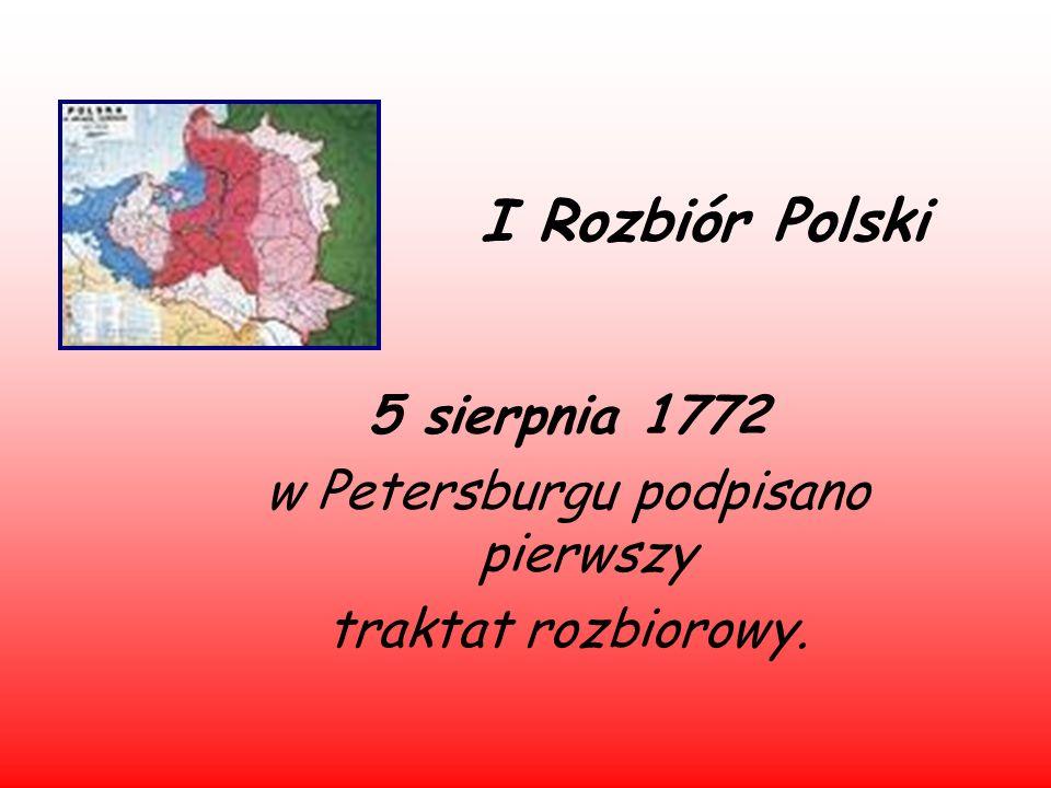 w Petersburgu podpisano pierwszy