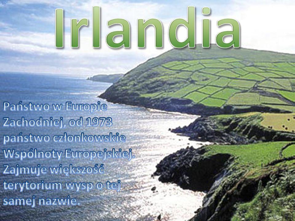 Irlandia Państwo w Europie Zachodniej, od 1973 państwo członkowskie Wspólnoty Europejskiej.