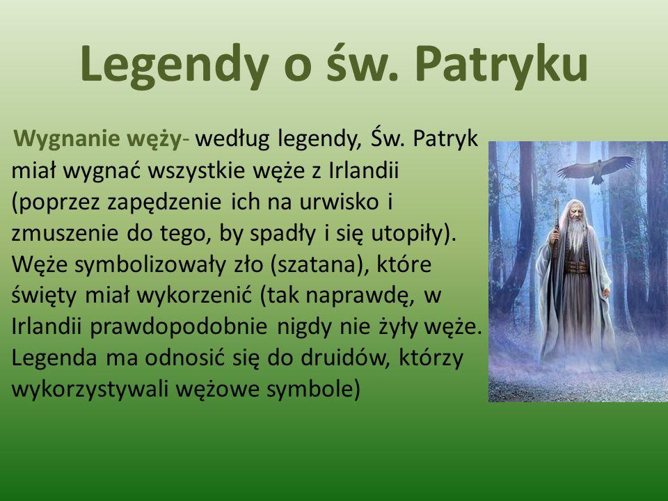 Legendy o św. Patryku