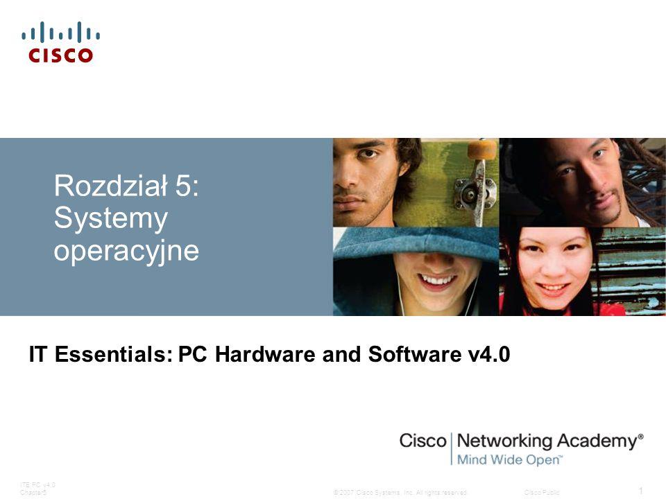 Rozdział 5: Systemy operacyjne