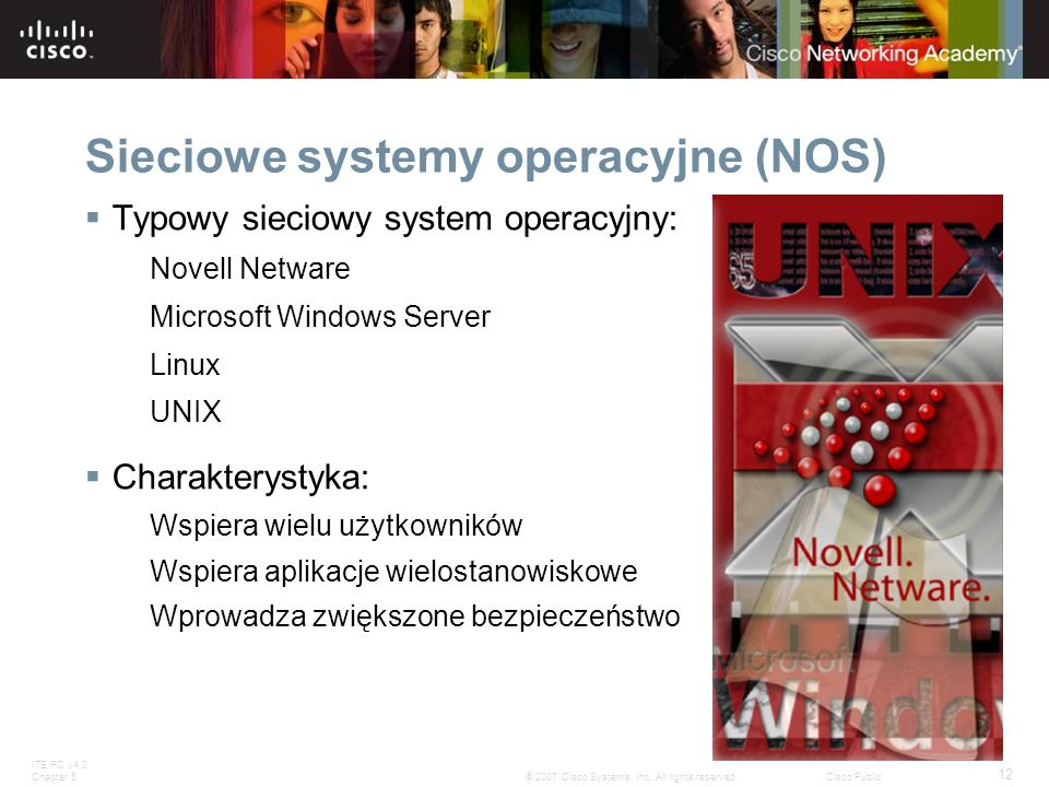Sieciowe systemy operacyjne (NOS)