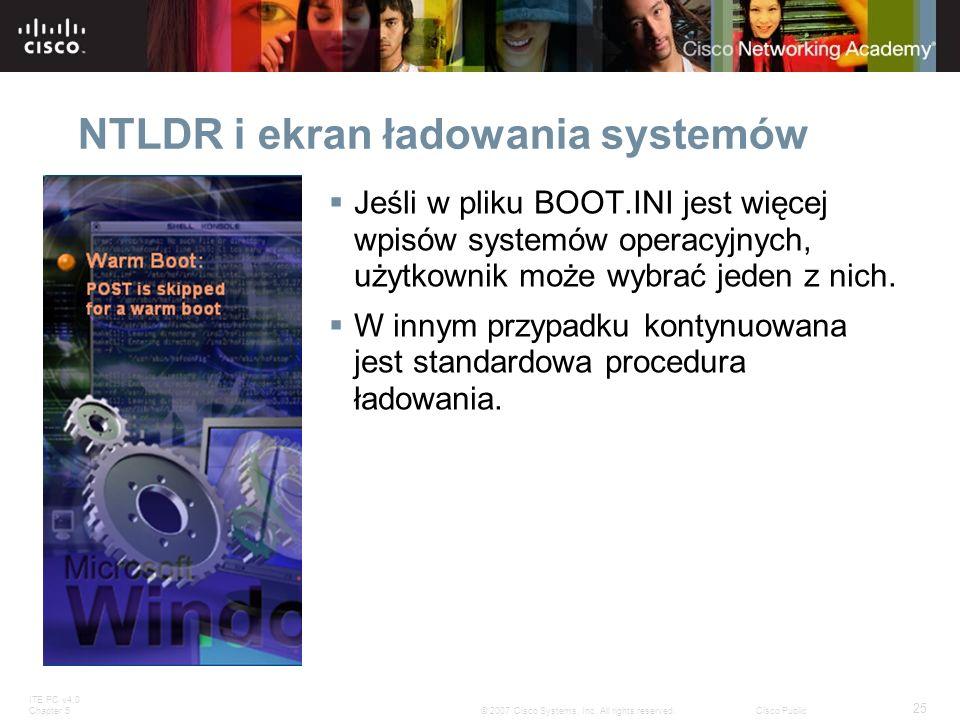 NTLDR i ekran ładowania systemów