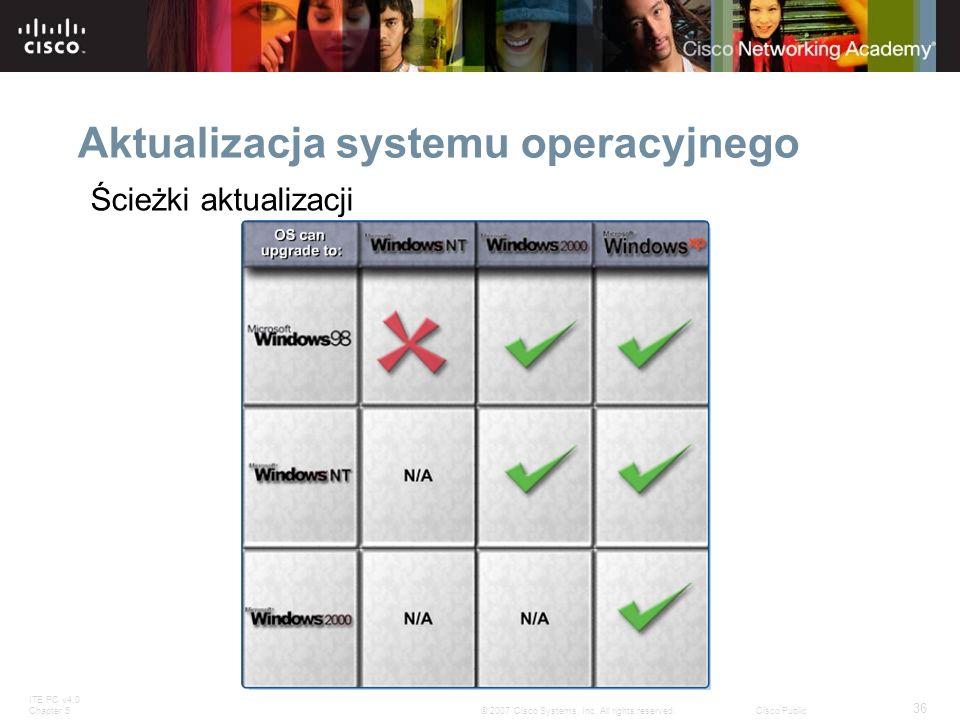 Aktualizacja systemu operacyjnego