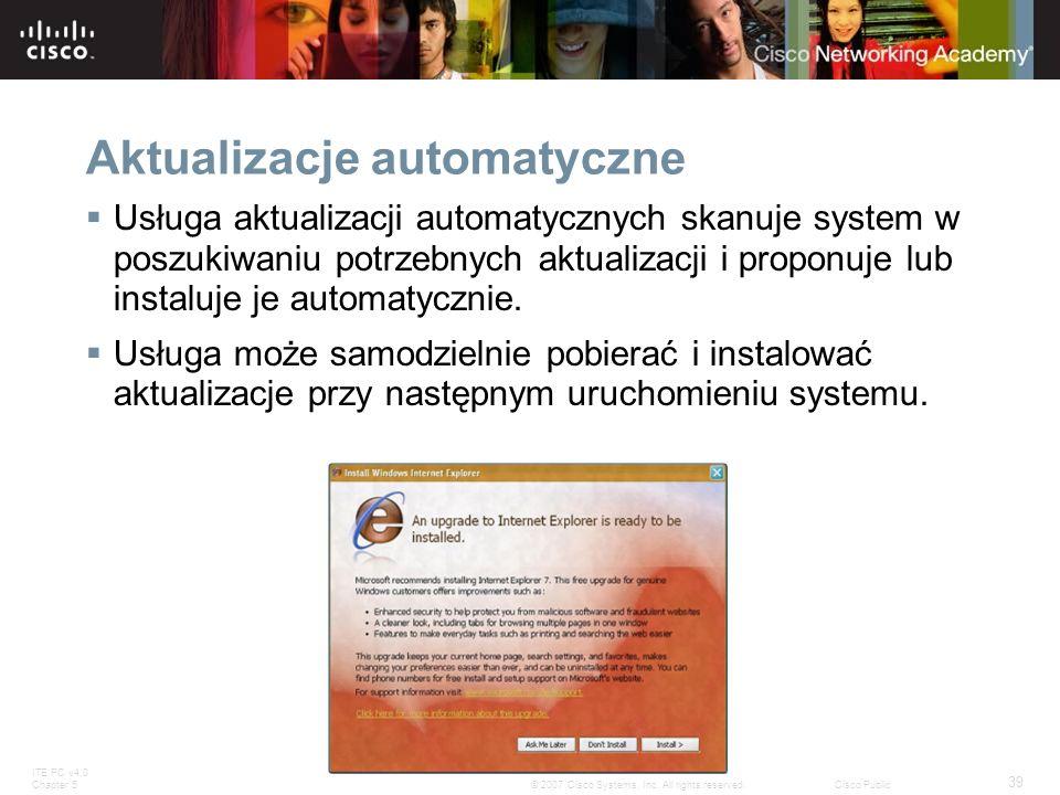 Aktualizacje automatyczne