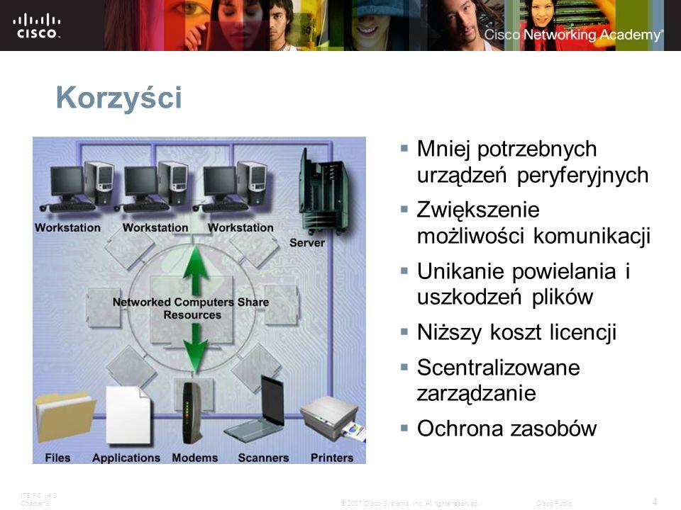 Korzyści Mniej potrzebnych urządzeń peryferyjnych