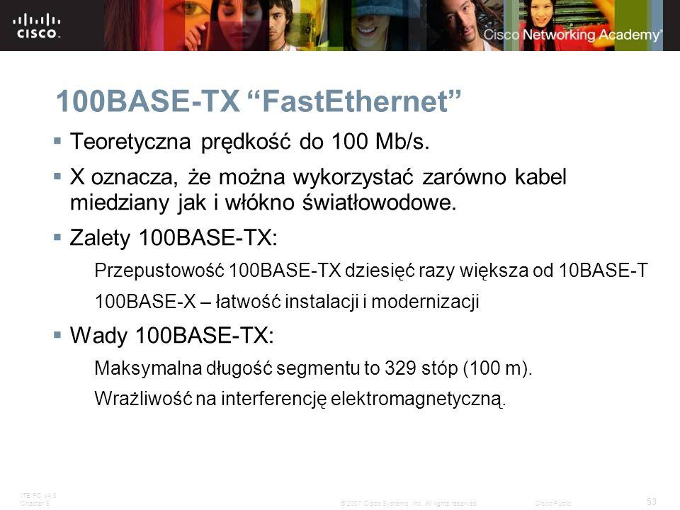 100BASE-TX FastEthernet