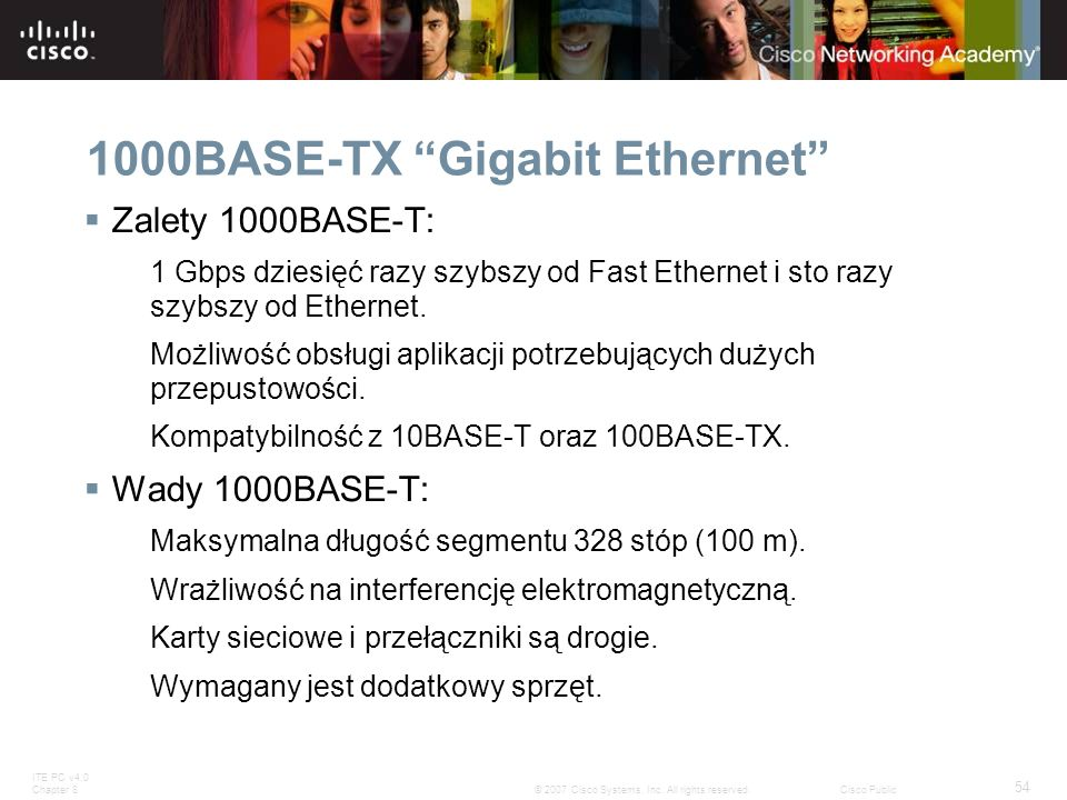 1000BASE-TX Gigabit Ethernet