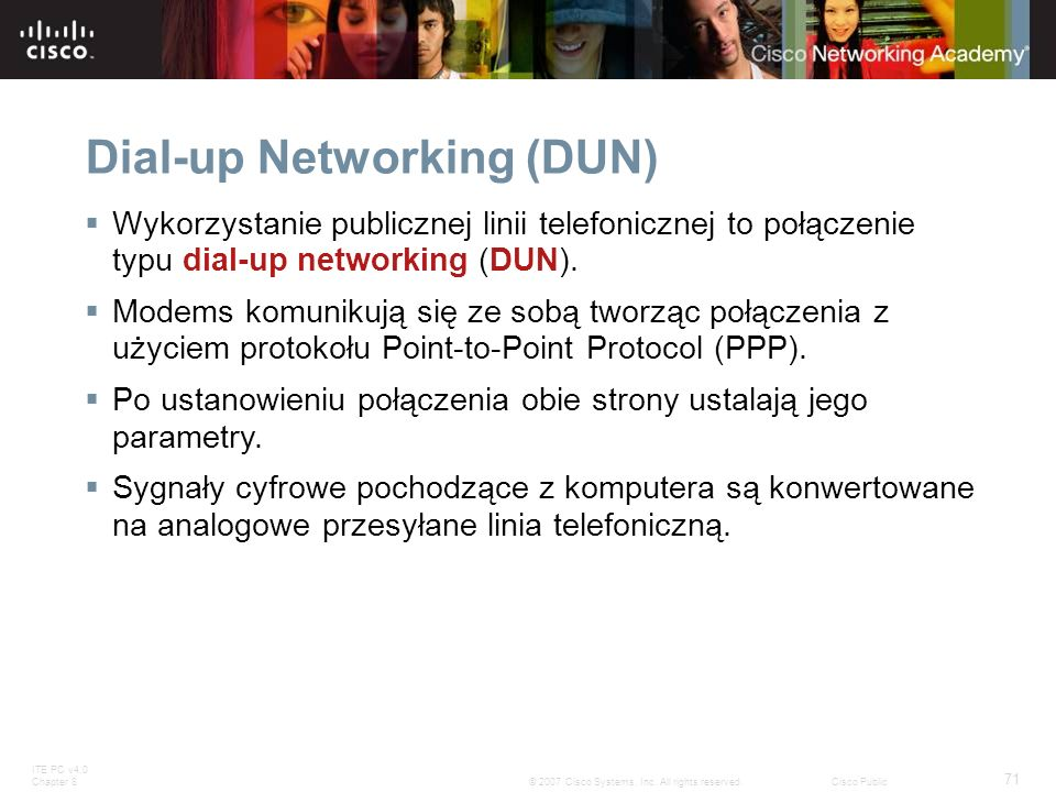 Dial-up Networking (DUN)