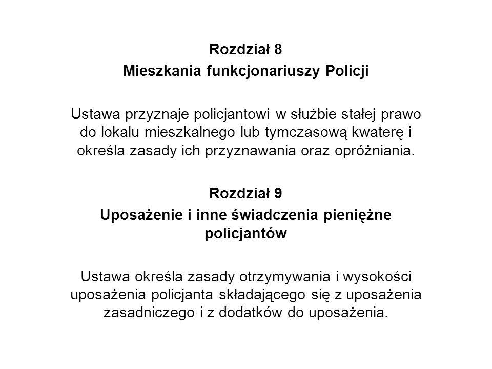 Mieszkania funkcjonariuszy Policji