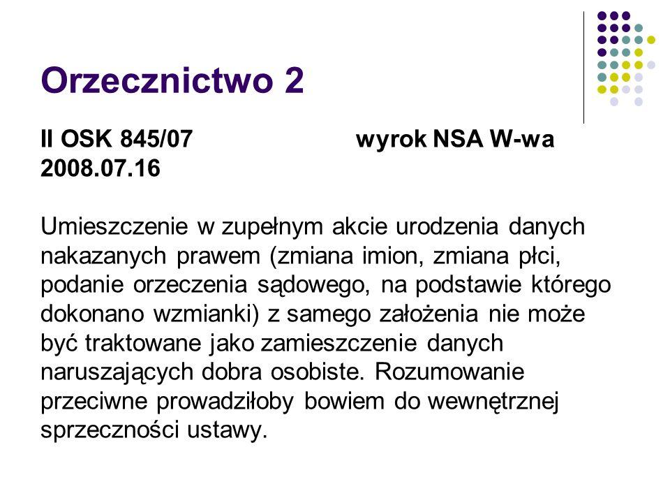 Orzecznictwo 2 II OSK 845/07 wyrok NSA W-wa 2008.07.16