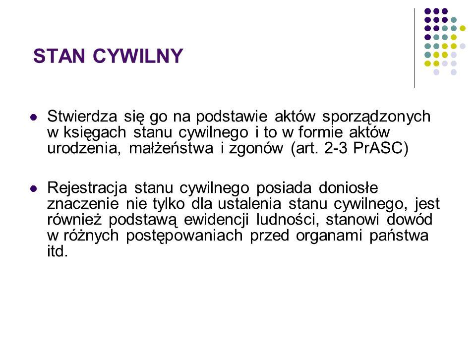 STAN CYWILNY