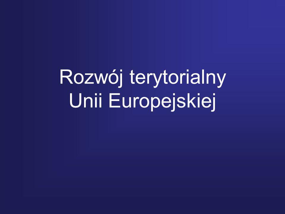 Rozwój terytorialny Unii Europejskiej