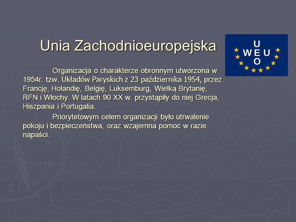 Unia Zachodnioeuropejska