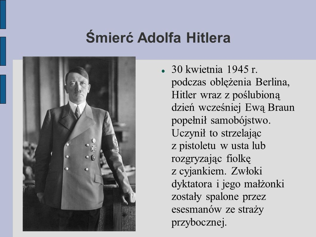 Śmierć Adolfa Hitlera