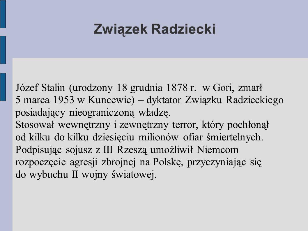 Związek Radziecki
