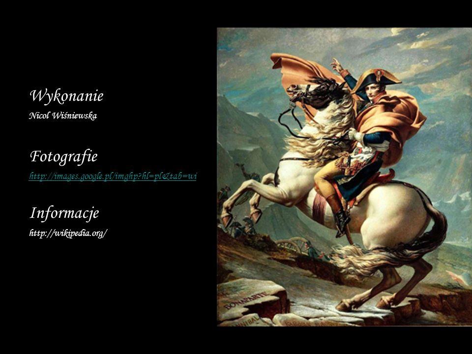 Wykonanie Fotografie Informacje Nicol Wiśniewska
