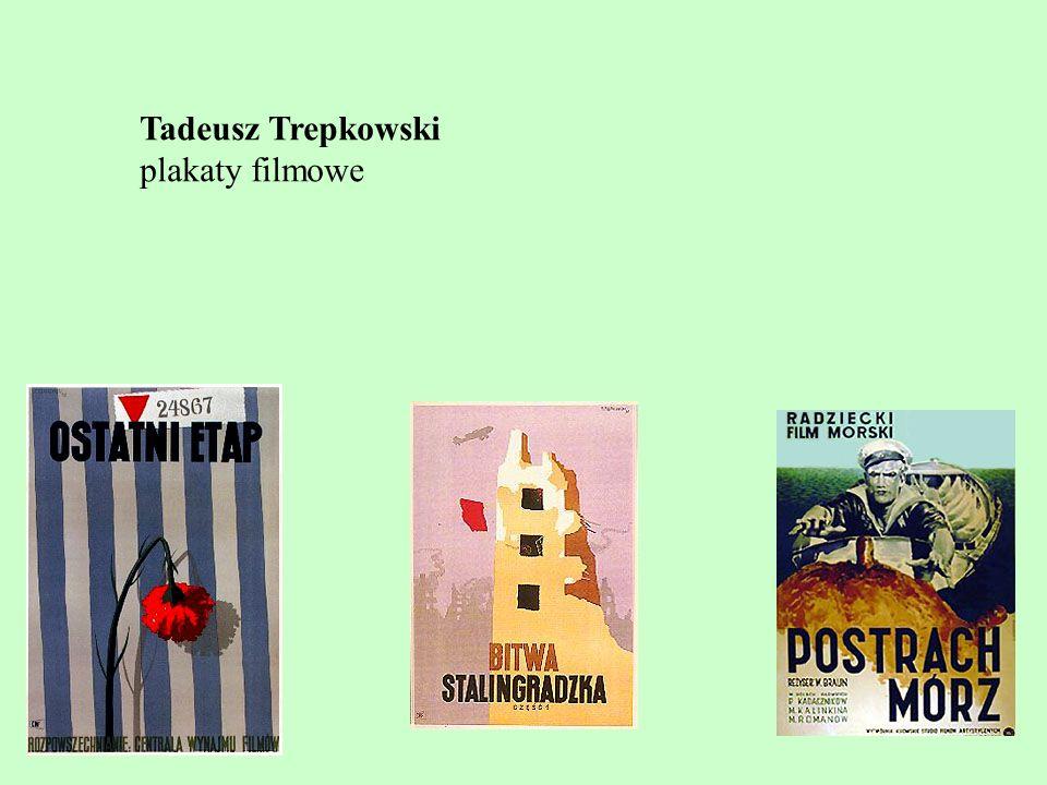 Tadeusz Trepkowski plakaty filmowe