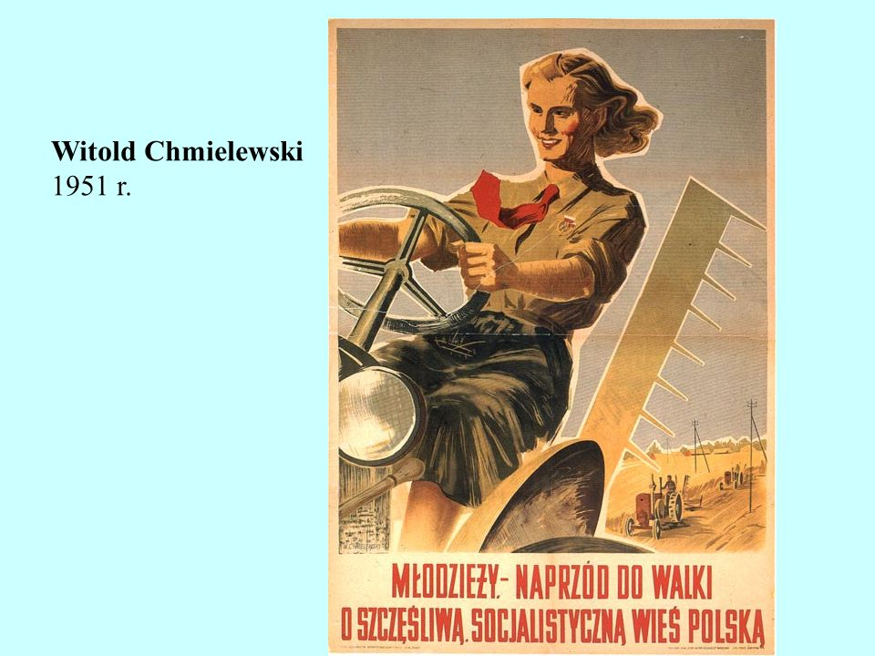Witold Chmielewski 1951 r.