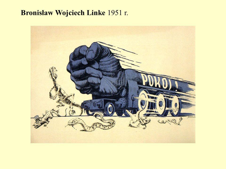 Bronisław Wojciech Linke 1951 r.