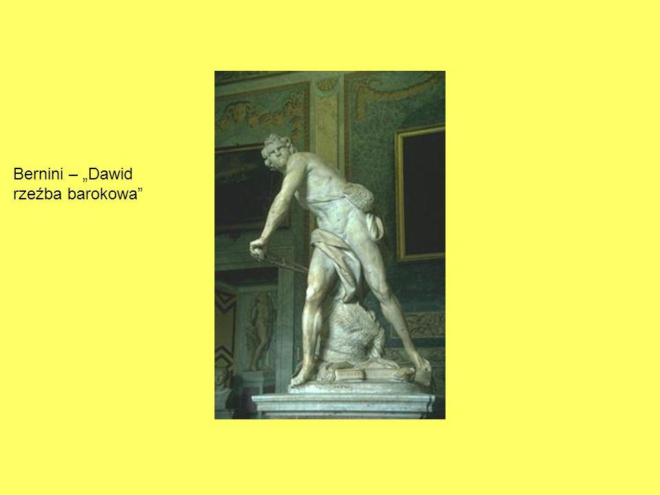 "Bernini – ""Dawid rzeźba barokowa"