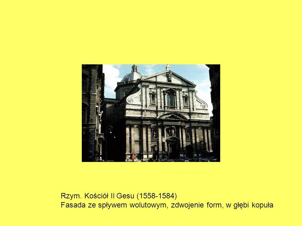 Rzym. Kościół Il Gesu (1558-1584)
