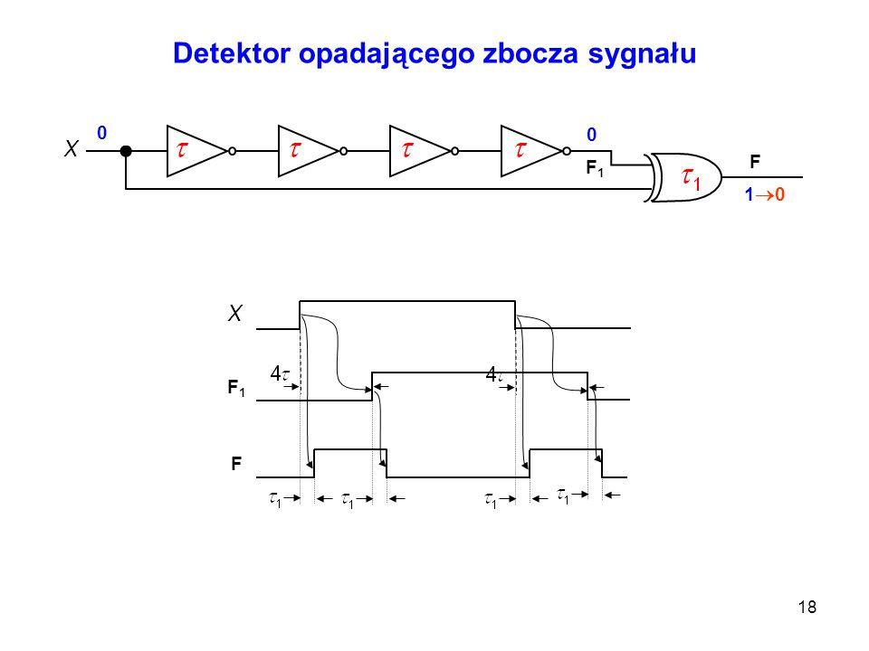 Detektor opadającego zbocza sygnału