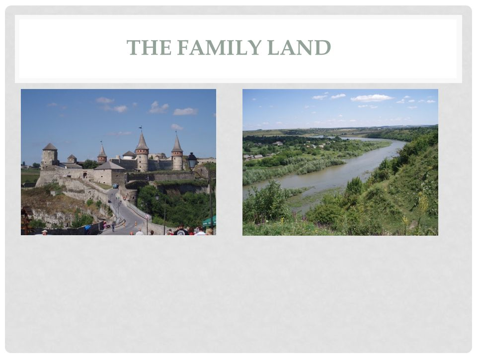 THE FAMILY LAND